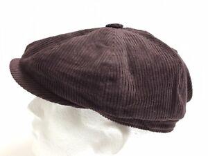 8 PANEL,BAKERBOY,NEWSBOY,PEAKY BELINDER,CORDUROY 1920S FLAT CAP CHEESE CUTTER