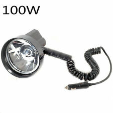 "12V 100W HID 5"" Xenon Handheld Camping Hunting Fishing Super Light Spotlight"