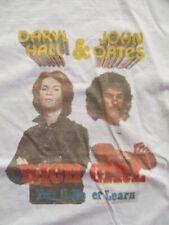 "DARYL HALL & JOHN OATES ""Rich Girl You'll Never Learn"" Concert Tour (MED) Shirt"