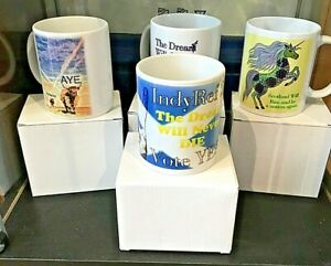 Scottish Indy Mugs ~ 4 Designs Made Exclusively For Yes2 Kirkcaldy ~ ONLY £8.95