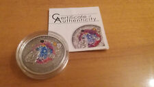 2010  Cook Islands - 5$ The HAH 280 Meteorite Silver Coin - perfect