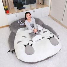 Anime enorme Totoro sleeping bag Suave Felpa grandes dibujos animados Sofá Cama Tatami Puf
