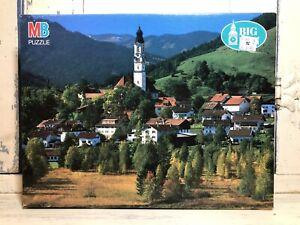 "Vintage 1993 1000 Piece Big Ben MB Puzzle Bayern Germany 20""x26"" 4962-7 Unopened"