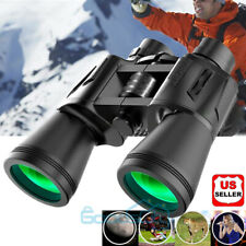 100X180 Binoculars Day Night Vision Bak4 High Power Waterproof+Carrying Bag