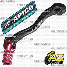 Apico Black Red Gear Pedal Lever Shifter For Honda CRF 250X 2005 MotoX Enduro