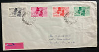 1969 Stanley French Congo Airmail Cover To Kenosha WI USA