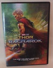 THOR RAGNAROK, MARVEL, DVD, SINGLE DISC W/CASE & COVER ARTWORK