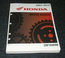 HONDA CRF150R,CRF150RB CRF 150R OEM SHOP,MECHANIC,SERVICE REPAIR MANUAL,BOOK