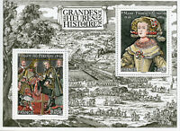 France 2018 MNH Great Moments in History Treaty of Pyrenees 2v M/S Stamps