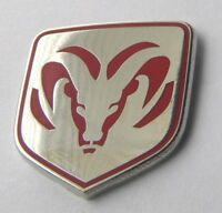 DODGE RAM PICKUP TRUCK LOGO EMBLEM LAPEL PIN BADGE 1 INCH