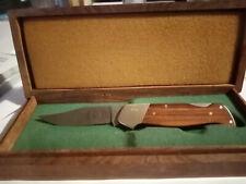 Couteau Damast Boker 1989