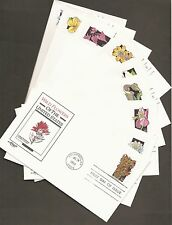 #2647-96 29c Wildflowers - Set of 50 Artmaster FDCs all different Cachets & Info
