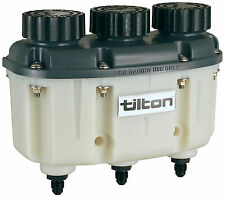 Tilton 3 in 1 Brake & Clutch Fluid Reservoir (72-577) an -4 Threaded Fittings
