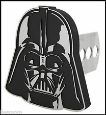 "Star Wars Darth Vader 1 1/4"" - 2"" Solid Metal Hitch Plug Receiver Cover"