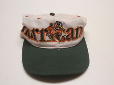 Hurricanes green, orange & white Baseball Cap with adjustable snap back