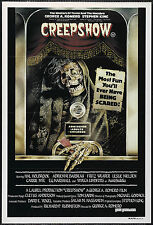 Creepshow - Stephen King - A4 Laminated Mini Movie Poster