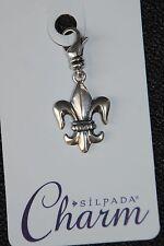 SILPADA Sterling Silver Charm Collection - Fleur-de-Lis - C2603 - NIB!
