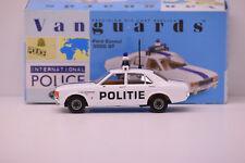 FORD CONSUL 3000 GT STAD ANTWERPEN POLICE VANGUARS 1/43 NEUVE EN BOITE