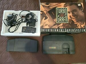 TurboGrafx-16 Console With 1 Controller, Power and TV Adapter and Turbo Booster