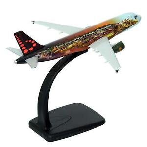 Rare Airplane Brussels Airlines Airbus A320 Tomorrowland Amare OO-SNF Lupa 1:200