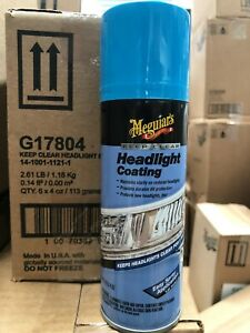 NEW! Meguiars Keep Clear Headlight Coating G17804