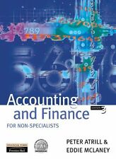 Accounting and Finance for Non-specialists By Dr Peter Atrill,  .9780273646327