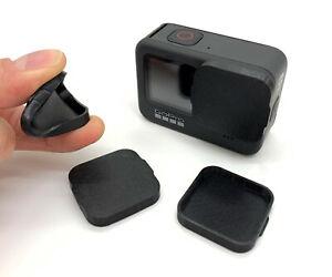 Linsenschutz Linsenabdeckung für GoPro Hero 10 & 9  Lens Cover Kappe Flexibel