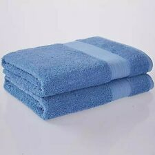 Christy Monaco Plain Hand Towels Royal Blue