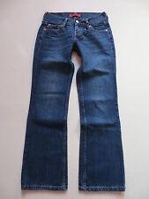 LEVI'S 557 EVE SQUARE-CUT JEANS pantalon, W 27/L 30, vintage denim, culte Lavage!