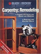 Carpentry Remodeling: Framing & Installing Doors & Windows / Removing-ExLibrary