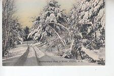 Westmoreland Road in Winter Keene NH