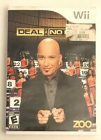 Deal or No Deal - Nintendo Wii - Game Case & Manual - ZOO 2009 Howie Mandel