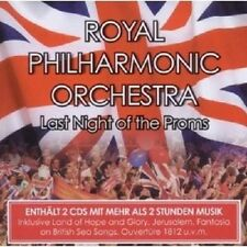 "ROYAL PHILHARMONIC ORCHESTRA ""LAST NIGHT OF THE PROMS"" 2 CD NEU"