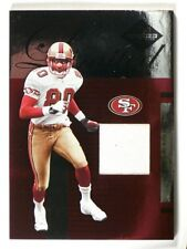 2005 Leaf Limited Threads jerry Rice jersey #D34/75 #LT-40 *39914