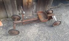 """Irish mail"" antique push/pull car peddle car kids toys collector"