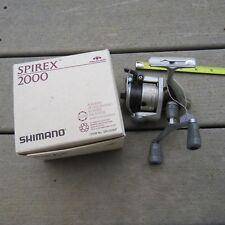 Shimano Spirex 2000 fishing reel made in Singapore (lot#12099)