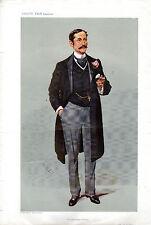 VANITY FAIR CARTOONS - SIR HARRY SEYMOUR FOSTER-LOWESTOFT & PERSIA - SPY (c1900)