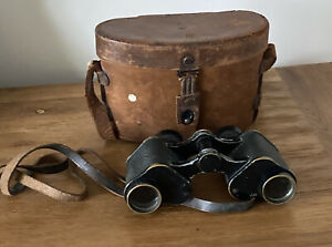 BAUSCH & LOMB ZEISS PRISM STEREO BINOCULARS AND CASE 1897/1902.ROCHESTER.N.Y.