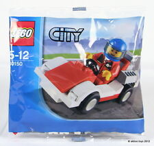 Lego city voiture de course + pilote Mini Figure-Set 30150 Neuf