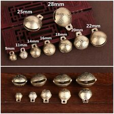 Diy Jewelry Small Bells Little Brass Jingle Bell Dangle Charms With Loop 9~28mm