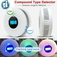 Carbon Monoxide(CO) and Smoke 2in1 Combination Detector Alarm - Battery Operated