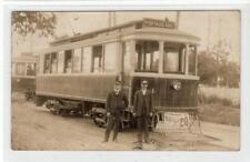 More details for picture postcard of a trolley/tram from winnipeg, manitoba, canada (c32188)