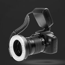 Rf-550D Led Macro Ring Flash Light With 8 Adapter Rings For Dslr Camera