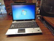 HP Elitebook 6930P LAPTOP 2.66 GHz  4 GB 120 GB #2731 WebCam Bluetooth