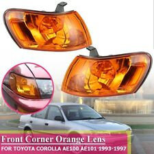 Front Parking Corner Light Orange For 1993-1997 Toyota Corolla A AE101