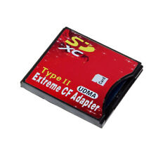 Type Ii Memory Card Reader Adapter Sd Sdhc Sdxc to Extreme Compact Flash Cf Card