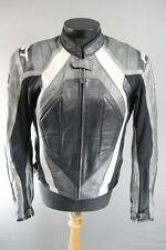 RST PRO SERIES LEATHER BIKER JACKET + REMOVABLE SHOULDER & ELBOW ARMOUR 42 INCH