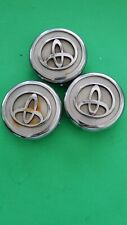 Toyota Camry Avalon Matrix Solara Wheel rim Center Hub Cap silver 8840 PPE+PS x3