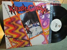 V/A Krush Groove Soundtrack OST Beastie Boys LL Cool J Run DMC LP kurtis blo '85