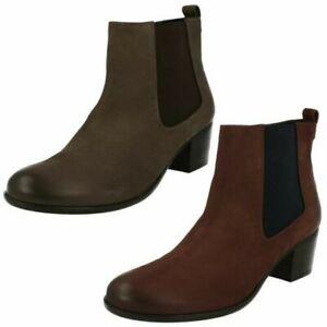 Ladies Van Dal Gusset Ankle Boots Cato